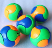 Toy balls can be customized