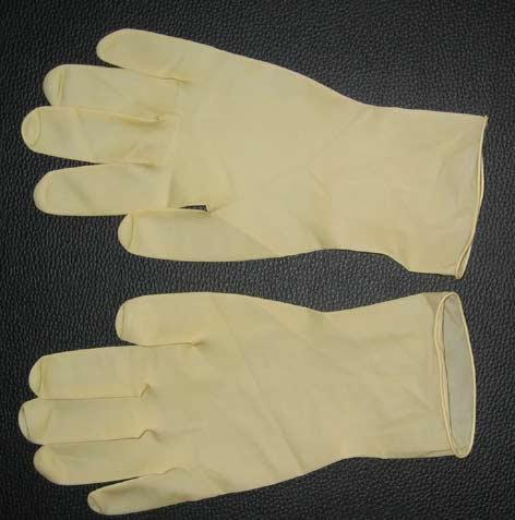 Latex gloves rubber cleaning supplies