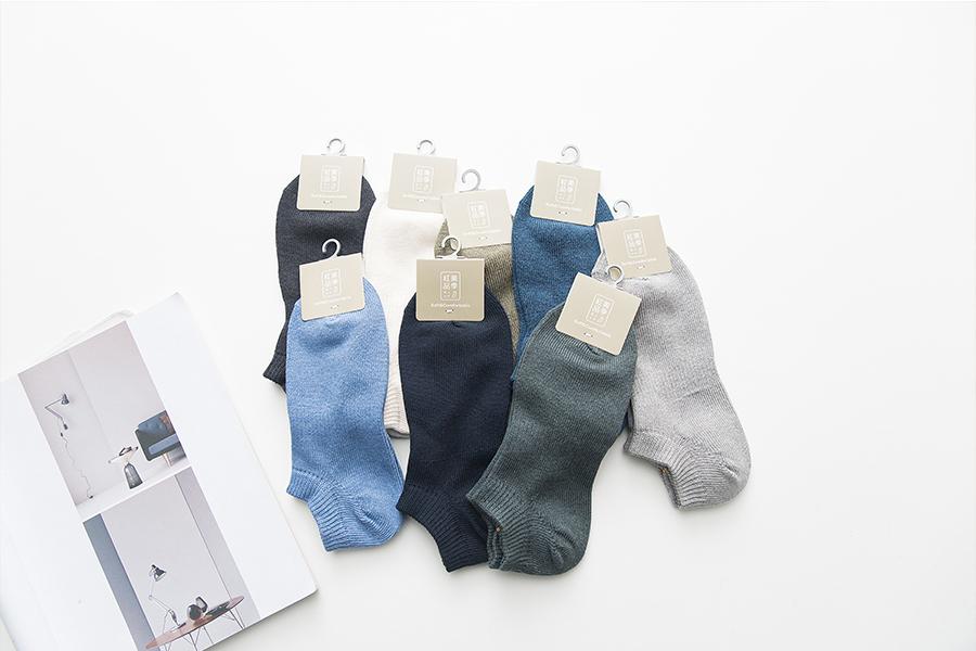New Men's Pure Cotton Socks, Boat Socks, Invisible Socks, Business Socks