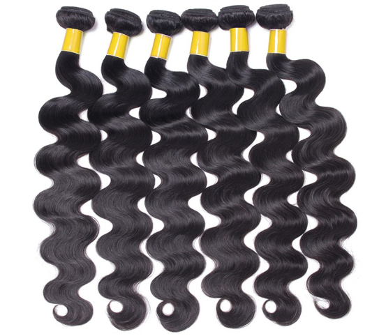 Virgin Indian hair Silky Straight Wave wholesale extensions bundle Brizilian hair style black