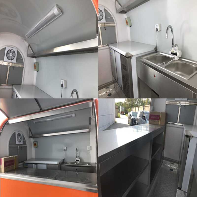 mobile food truck catering trailer food carts