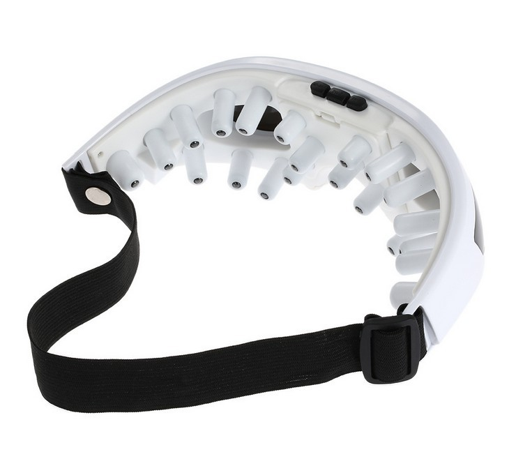 b2368bb6881 ... Eye Mask Migraine DC Electric Care Forehead Eye Massager Infrared  Heating Massage Glasses Eye Care Device