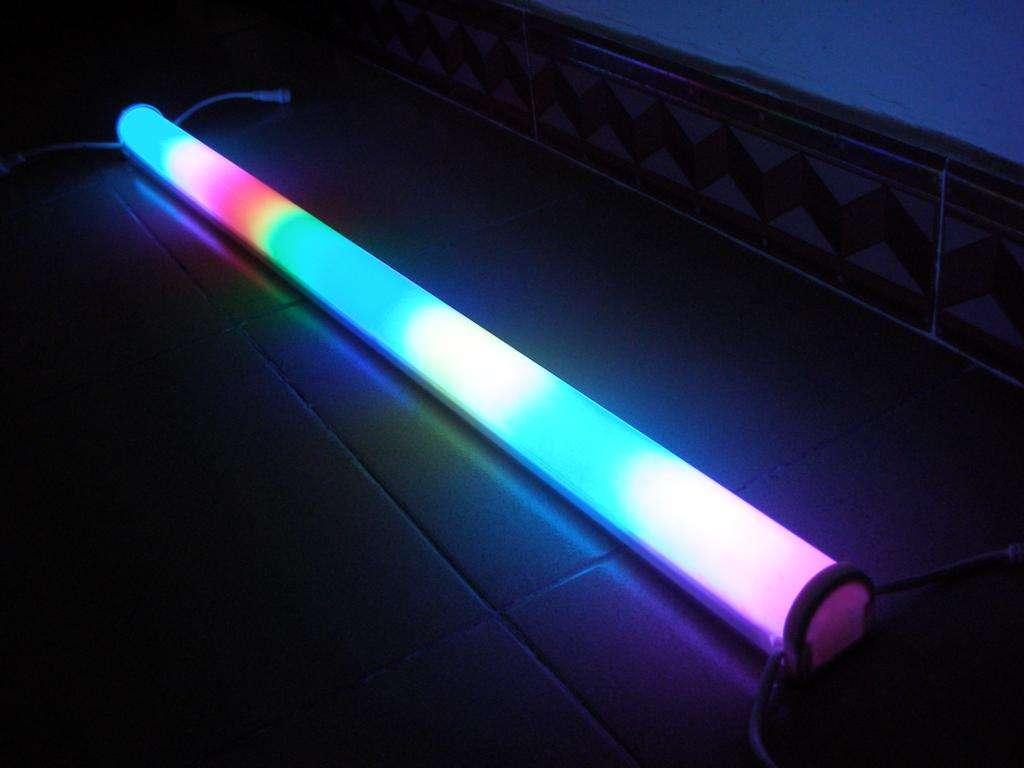 Luminescent digital display panel