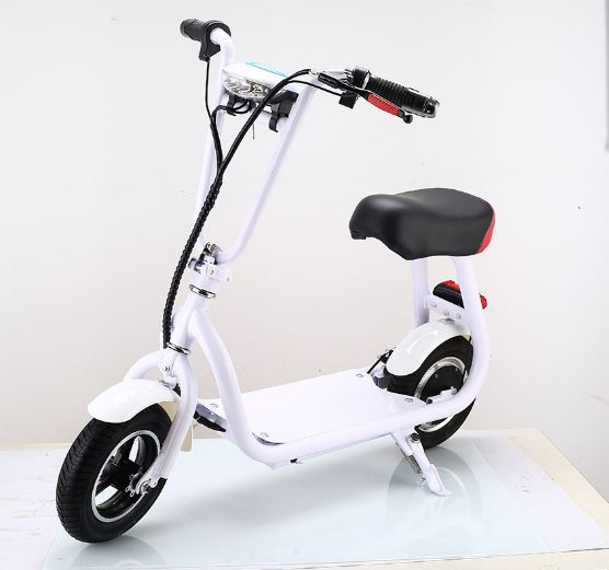 10 inch folable mini citycoco electric scooter 36V 350w