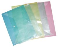 Plastic file bag cartoon