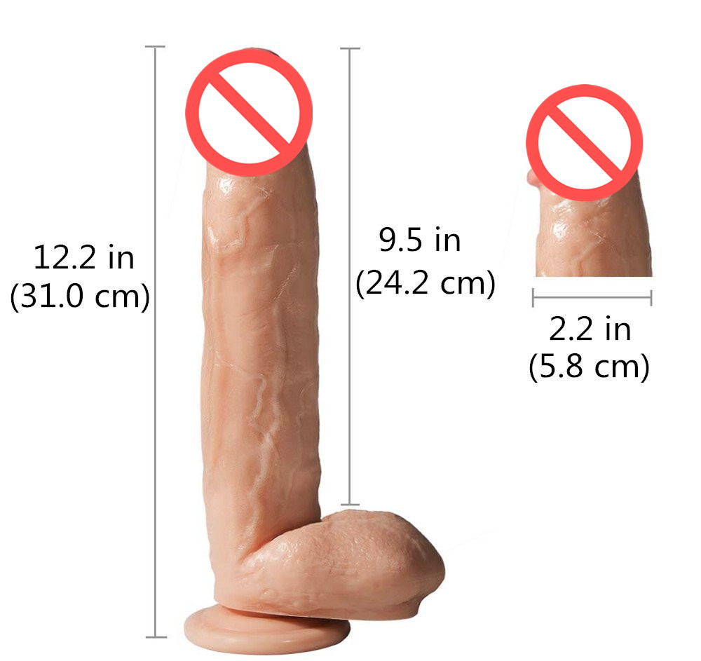Huge Anal plug Super Thick Huge Dildo Big Realistic Dildo Sturdy Suction Cup Penis Dick Dong Sex Product for Women Sex Toys