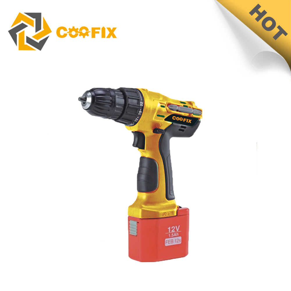 Coofix hot sells multi-function rechargeable torque cordless electric screwdriver hand-held tools