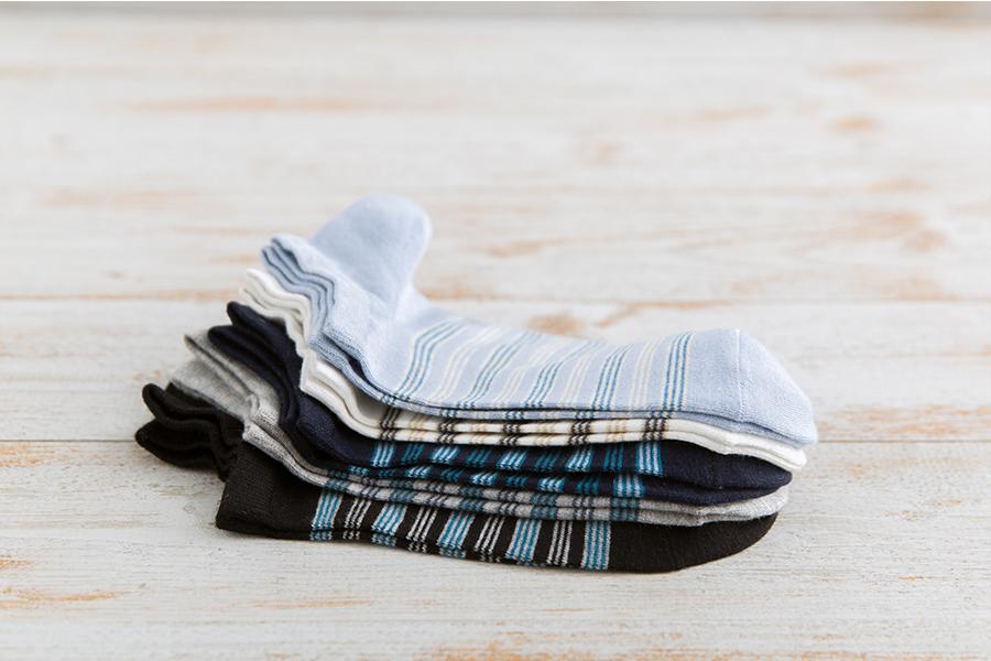 New Men's Striped Cotton Socks, Boat Socks, Invisible Socks and Leisure Socks