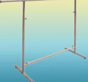 Base metal clothes hanger