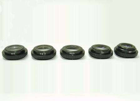 Microscope accessories 0.5X objective lens can be customized Microscope accessories 0.5X objective lens can be customized