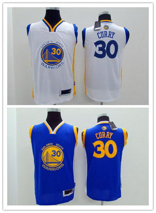 low priced 3c5c7 a5ca9 Kids Golden State 30 Stephen Curry Basketball Jersey Youth ...