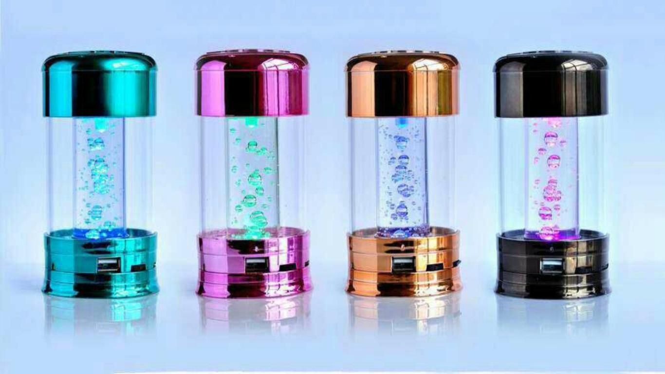 Portable Speaker K666 MUSIC FM speakers + TF card + FM High Quality Crystal Sound box, 4Colors DHL Promotion
