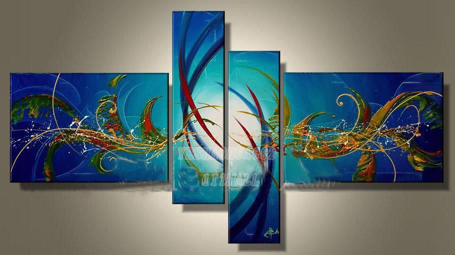 china cheap high quality wholesale oil paintings home decoration Modern abstract Oil Painting wall art B914