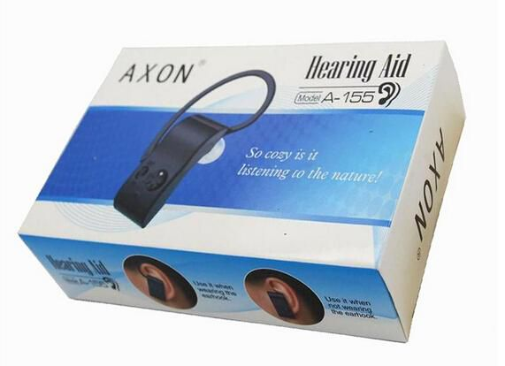 A-155 CE Approved High Quality Cheap Price Analogue Bluetooth Type Rechargeable BTE Hearing Aid Personal Sound Amplifier Free Shipping