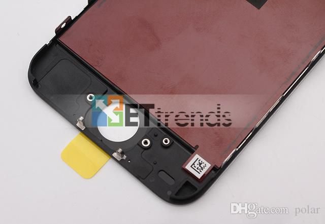 Promotion!! LCD Display & Touch Screen Digitizer with Frame Full Assembly for iPhone 5C Replacement Repair Parts AA0448