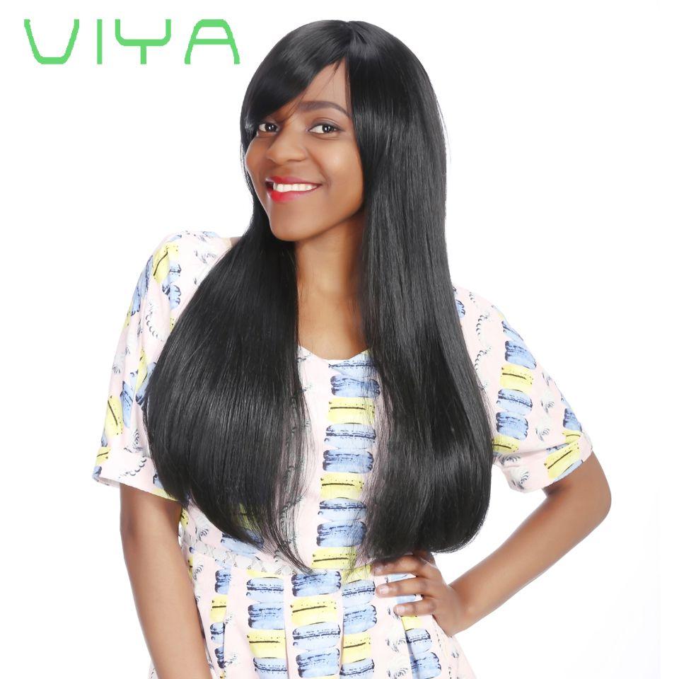 Viya Mongolian Virgin Human Hair Straight Hair Extension Unprocessed