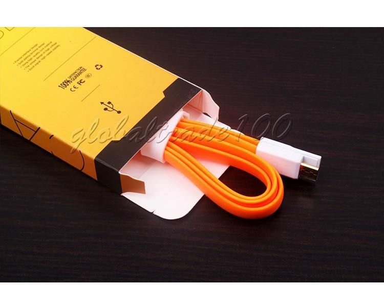 New Style Pretty Colorful USB Cable Universal Retail Packaging Box Bag For 3FT-5FT USB Cables Data Sync Charger 500pcs/lot Free DHL KJ-295