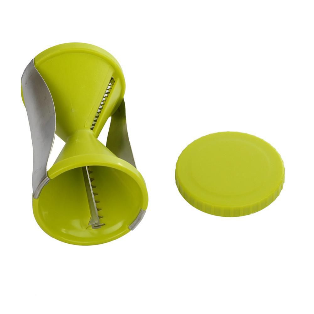 Funnel Model Spiral Slicer Vegetable Shred Device Cutter Carrot Piece Grater New