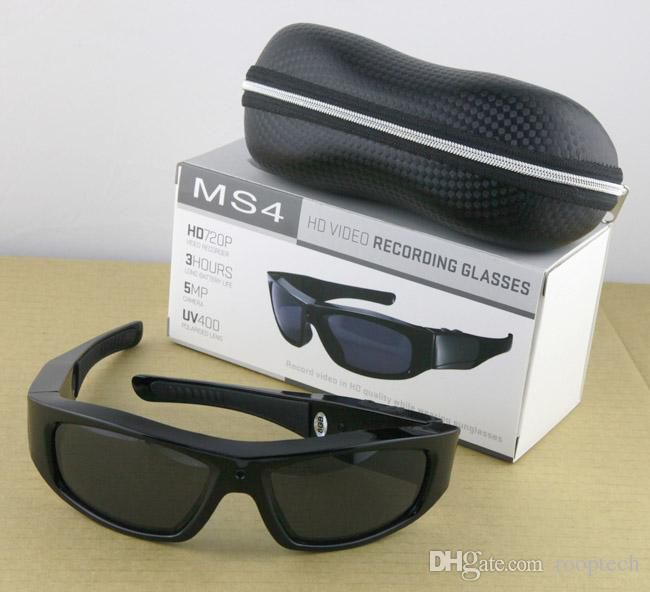 8GB undetectable Polarized lens spy 5.0 Mega pixels HD DVR men Sunglasses with MP3 player Web Camera Function