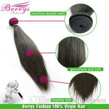 """6A Brazilian Straight Virgin Hair Thick And Soft Bundles Hair Extensions 3pcs/lot 8""""-34""""Unprocessed Hair Products"""