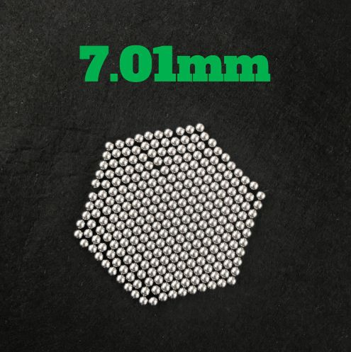7.01mm Chrome Steel Bearing Balls G16 Hardened AISI 52100 100Cr6 Precision Chromium Balls For Automotive Components, Precision Bearings