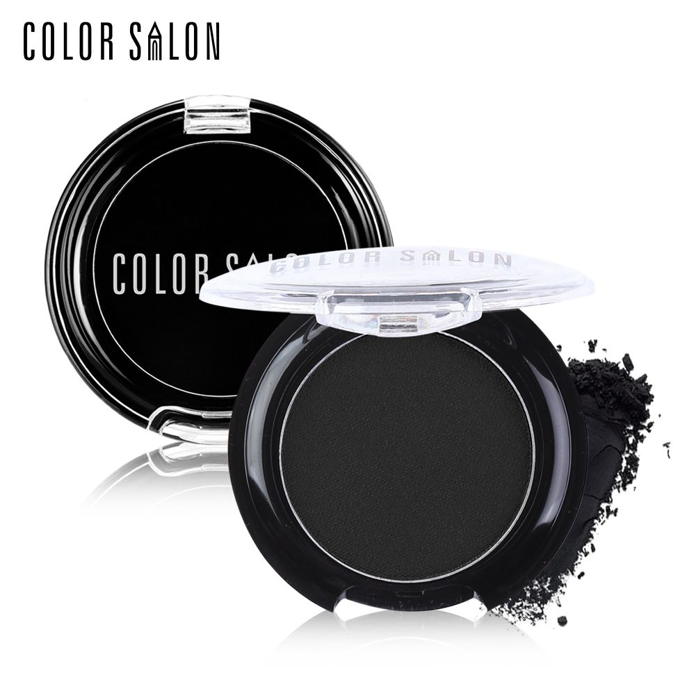 Color Salon Professional Eye makeup cosmetic eyeliner powder 24hour long-lasting waterproof easy wear Black eyeliner powder 3g