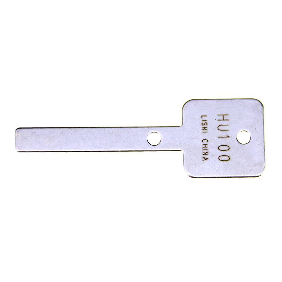 Mr. Li's Original Lishi HU100 V.3 2in1 Decoder and Pick - Best Automotive Locks Unlock Tools on the Market