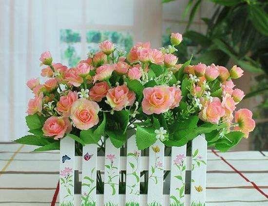 plastic flowers Customizable