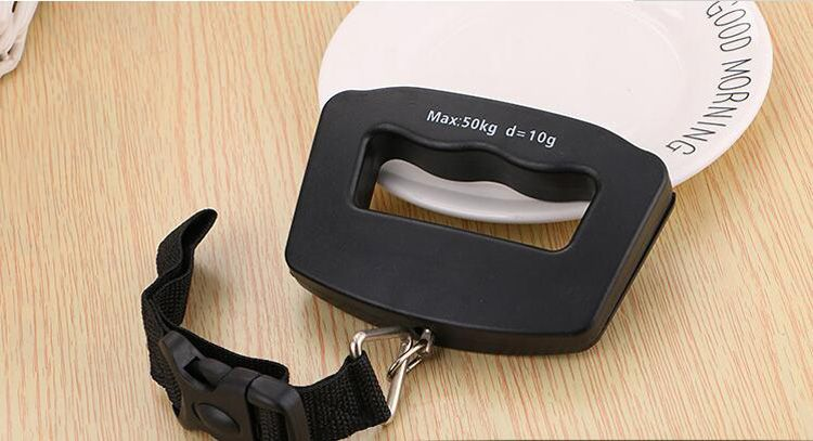 New Portable LCD Display Electronic Hanging Digital Luggage Weighting Scale 50 kg / 110 lb Weight Scales