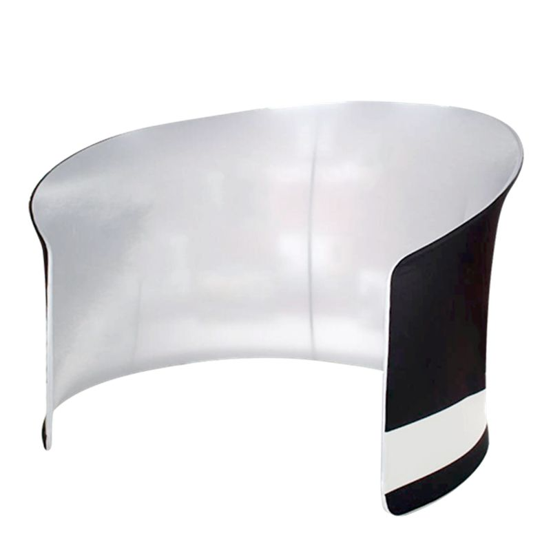 Smart Expo Semi-circular Curved Display Stand with Aluminum Tubes Structure Custom Printing Graphic Carry Bag