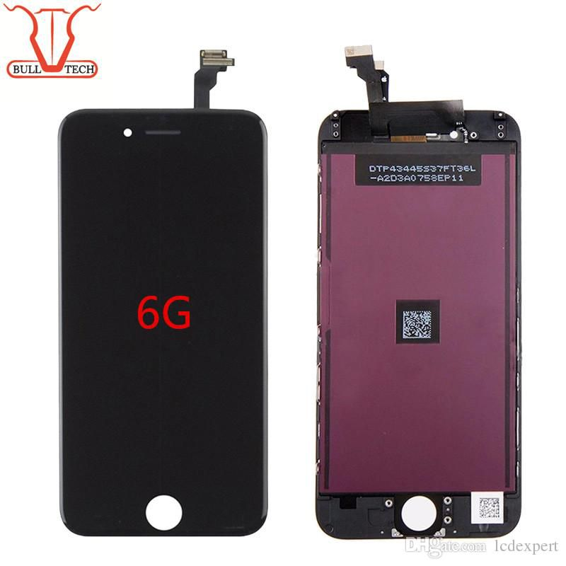 Grade A +++ Shenchao LCD Display Touch Digitizer Complete Screen with Frame Full Assembly Replacement for iPhone 6 iphone6 black white