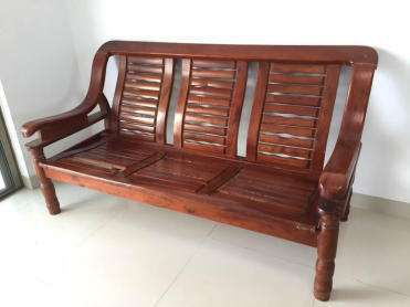 Wooden sofa can be customized Three separate sets for bonsai can be customized practicaldurablestrong