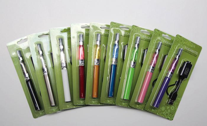 CE4 Ego Starter Kit Blister Pack 1.6ml CE4 Atomizer Electronic Cigarette 650mah 900mah 1100mah Green Paper Insert