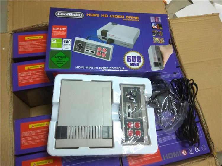 HD HDMI Out Retro Classic Game TV Video Handheld Game Console Entertainment System Built-in 500 Classic Games for NES mini Game