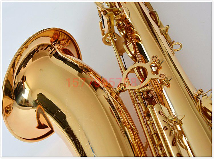 The most popular Selmer 54 tenor Sax gold professional Saxophone instrument electrophoresis