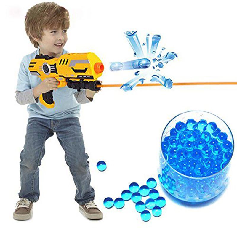 10000pcs/bag Nerf Gun Bullets Ball Orbeez Paintball Pistol Toys Gun Bomb Party Toys Shooting Water Gun Crystal Ball Soft Bullets