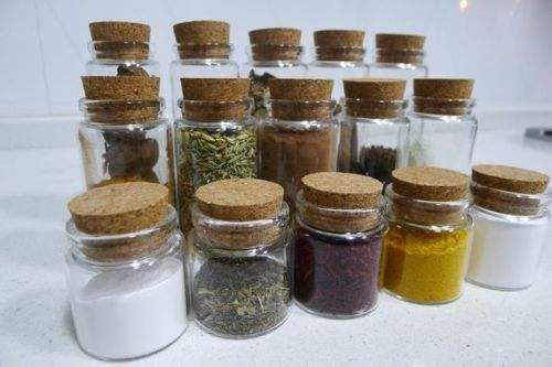 Spice bottles Can be customized durable
