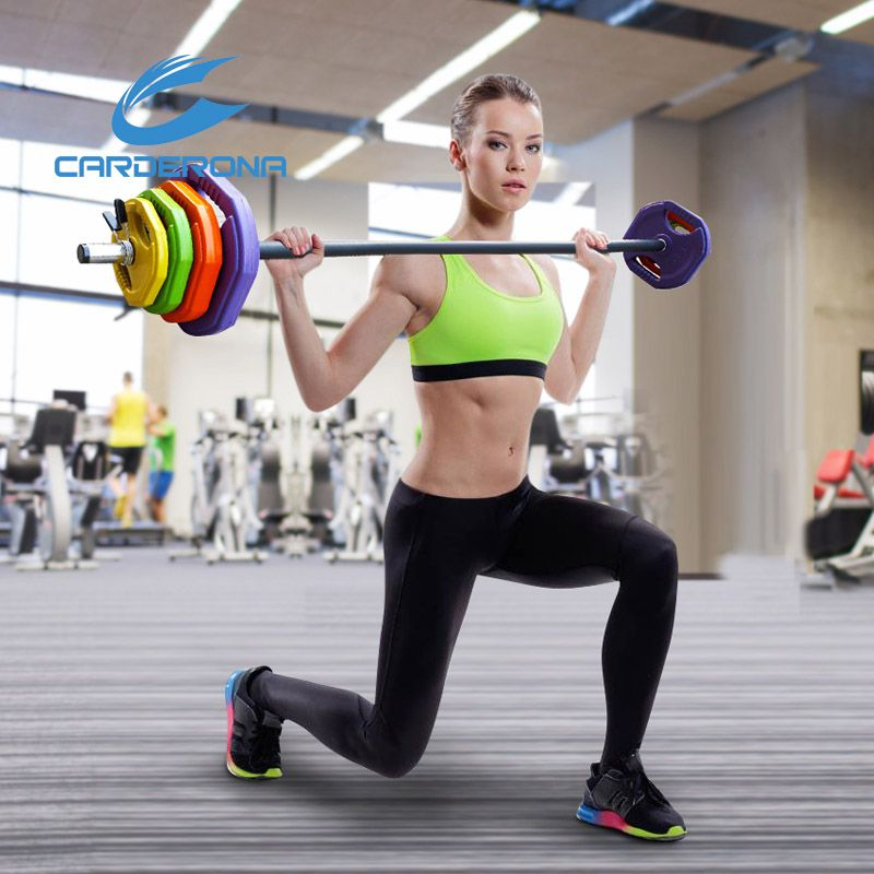 China supplier home fitness equipment weight lifting barbell for gym