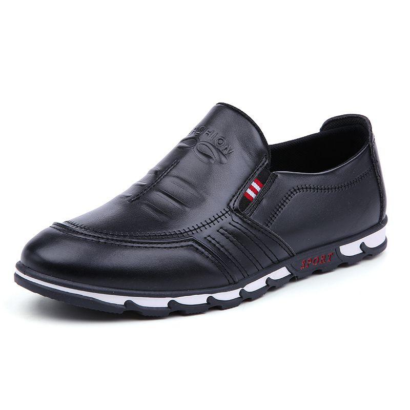 Fashion Wholesale Hot Slae Men's Casual Shoes Leather Shoes