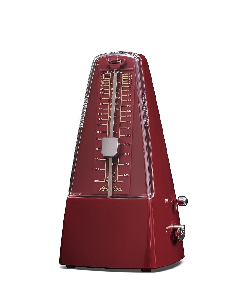 Wholesale Plastic Pyramid traditional Music Mechanical Metronome colorful Music Metronomes for Piano Violin Guitar Use Instrument