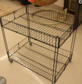 Wire mesh cabinet