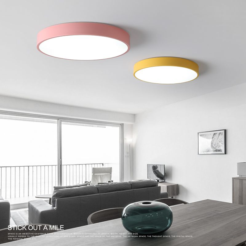 LM651 LED Ceiling Lamp Modern Style Living Room Bedroom Dining One With Three Color
