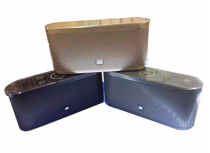 Original KingOne K9 Super Bass Bluetooth 4.0 with FM radio TF card play & hands-free call Stereo Music Metal box wireless speaker