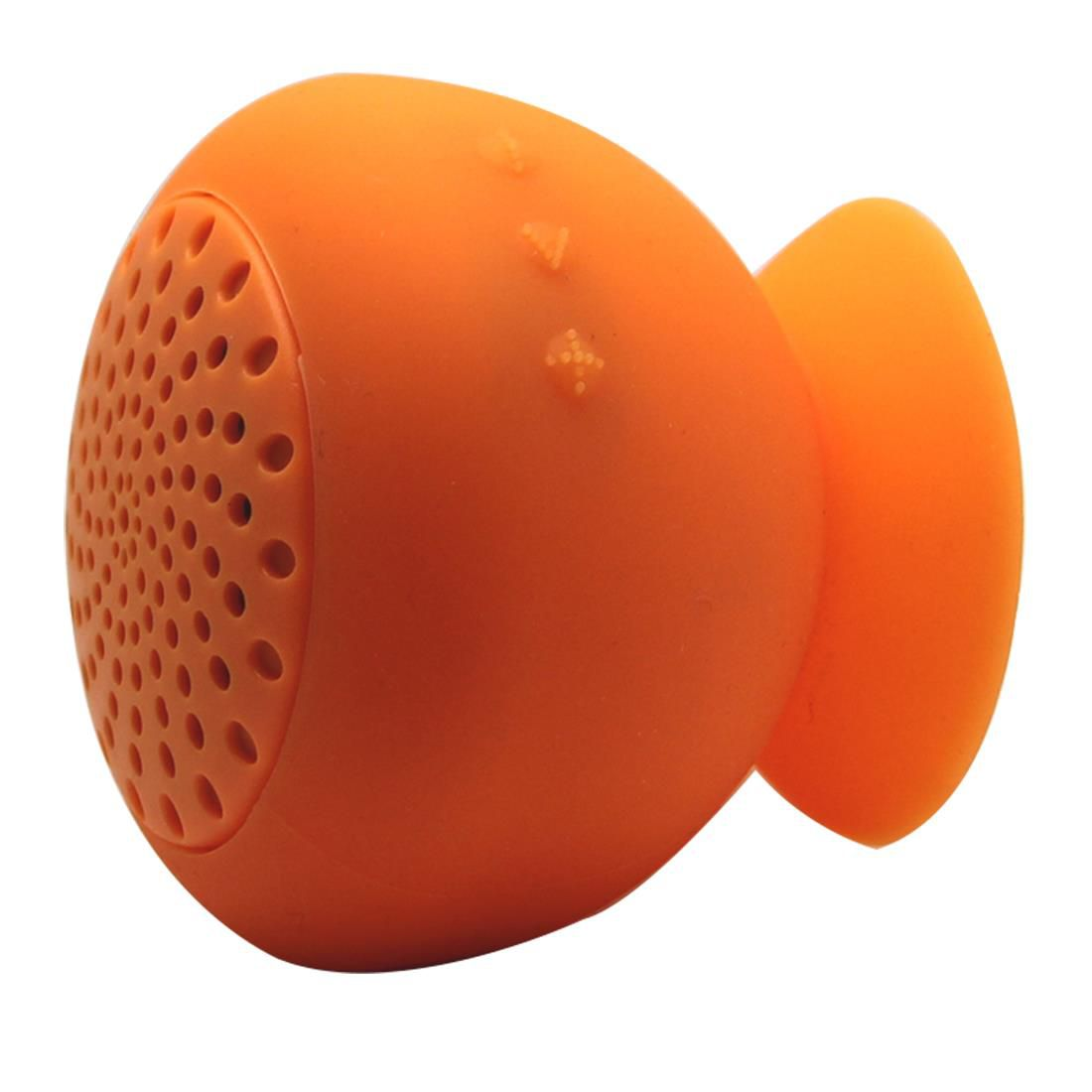 Mushroom Mini Wireless Bluetooth Speaker Waterproof Silicone Sucker Hands Free Speakers For Apple & Android Devices PC Computer