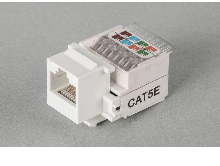 RJ45 Tool-Free Keystone Jack AMP type RJ45 Module Cat 5e Networking Modules