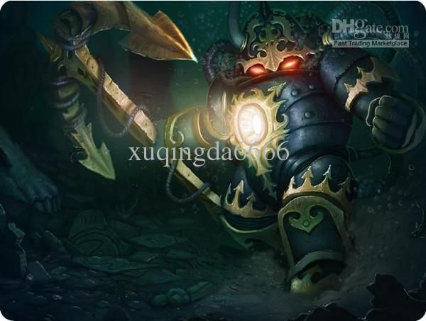 League of Legends LOL Abyssal Nautilus Mouse Pad II