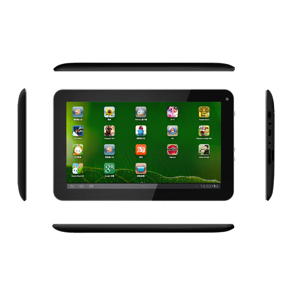 CAPIX 9inch WIFI Rockchip RK3126 Quad Core Tablet PC