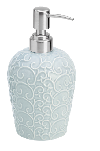 Ceramic soap dispenser