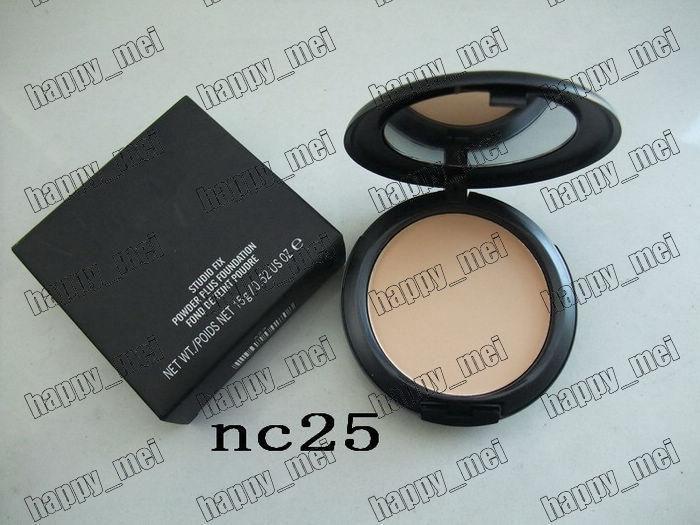 factory direct!100 Pieces/Lot New 15g studio fix powder plus foundation!NC20.25.30.35.37.40.42.43.45.47.50.55