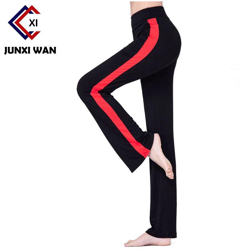 c8a62e64a7c Brand Modal Women Yoga Pants Plus Size Patchwork Dance Yoga Full Length  Leggings Fitn.